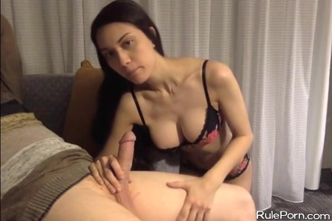 Big Tit Threesome Handjob