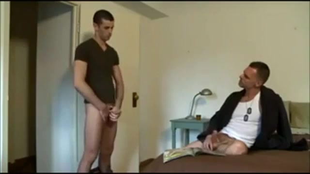 Dad Catches Son Jerking Off