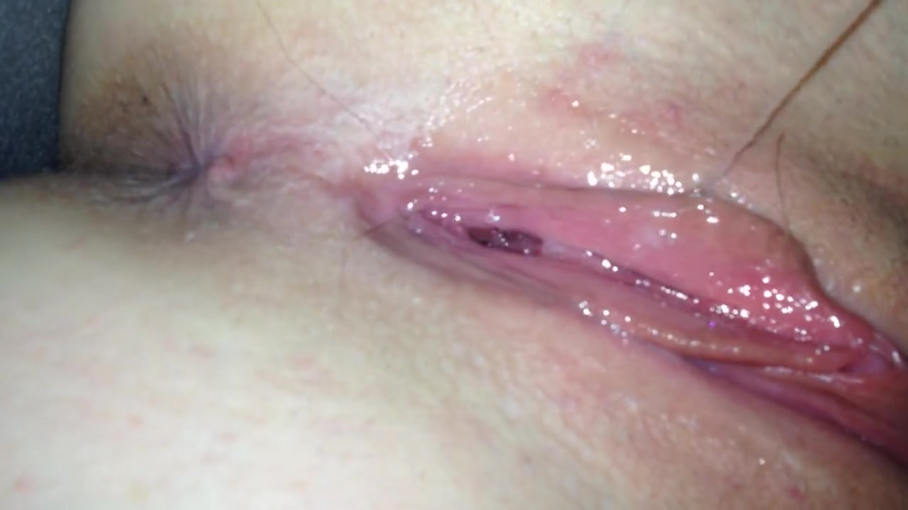 Hairy Wet Pussy Close Up