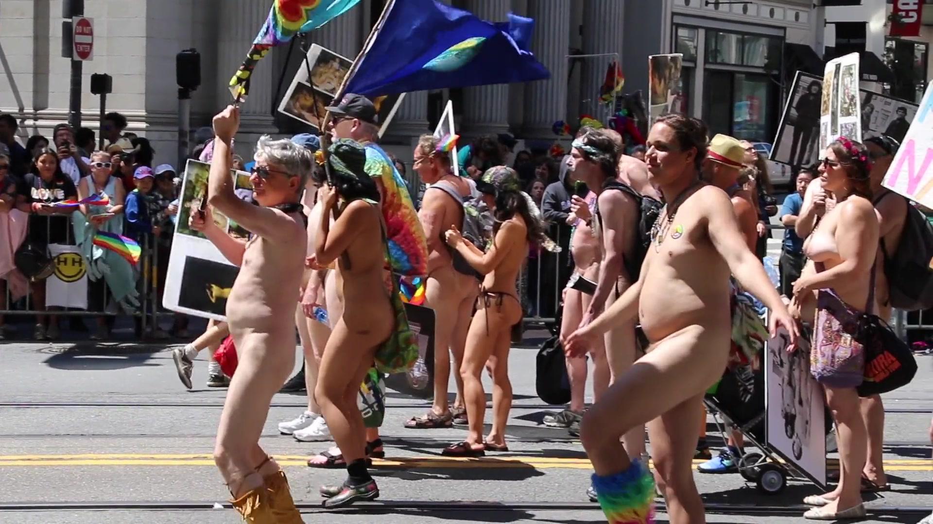 Nude loveparade 2nd Rally