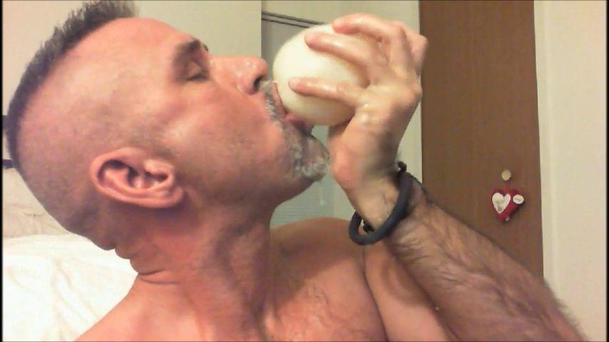 Wet gay sucking cock img