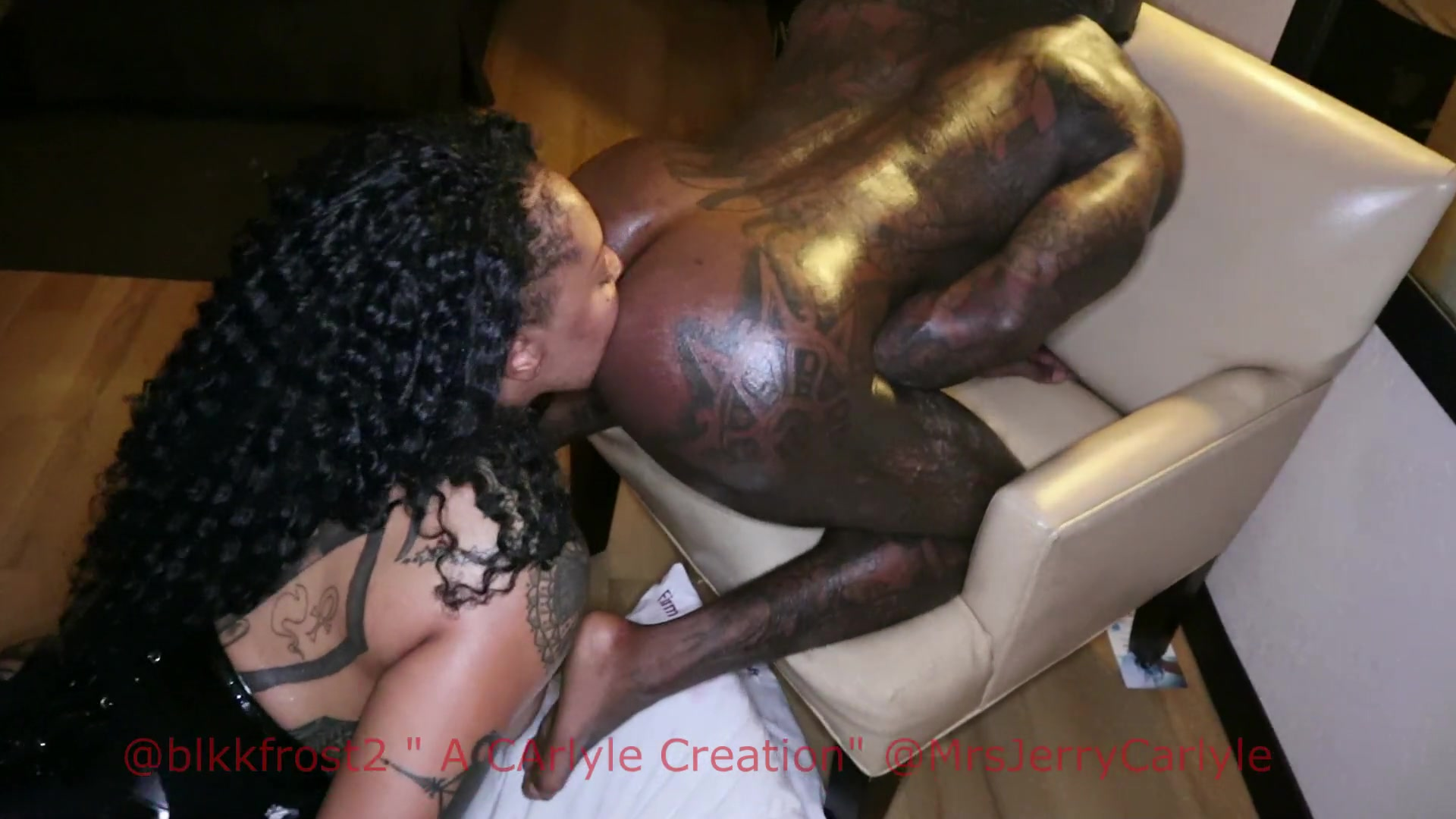 Black Guy Gets Ass Licked