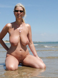 Amazing big titted milf