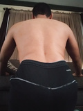 My back side