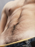 hairy stomach