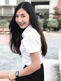 Beautiful Thai girl student