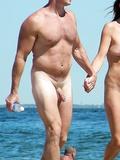 Mature daddies on the beach