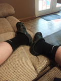 Nike Dri Fit Socks and Crocs