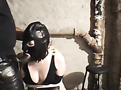 Sex slaved used by two guys