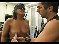 Mature slave woman rammed hard