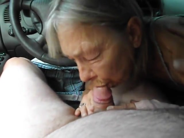 Grannies who suck cock