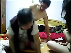 Chinese threesome (P4).240p