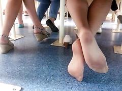 Sexy footplay