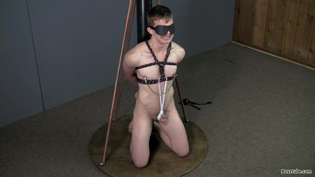 Tits Tied Nude And On Knees Jpg