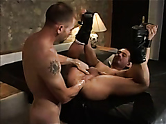 hot leather guys fucking and fisting