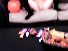 Goddess drilled hard on webcam