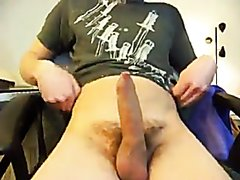 Young Boy Fast Wank and Cum