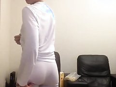Hot Uncut Teen with Bubble Butt in Tight Undies