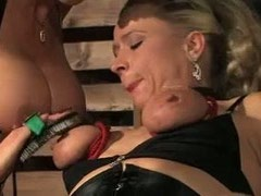 Brutal BDSM games with using of different tools
