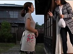 Beautiful Japanese Woman Desperate to Pee