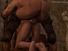 Witcher 2 - Railing Royalty