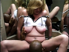 Black stud has fun with a white milf