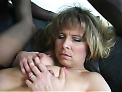 Kinky wife feeds her husband with some cum