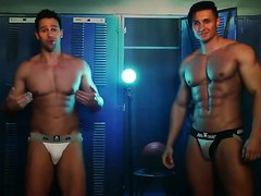 Two Hot Guys In Jockstrap