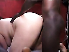 Black studs destroys a white milf
