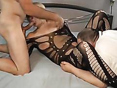 Blonde milf has sex before her husband