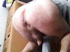 MY NEW SCAT in cam and cum - video 2
