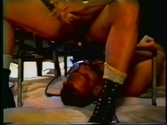 vintage - scat dad feeds his slave