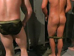 MILITARY IN LOCKERROOM WRESTLING