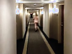 Nude walk in hotel