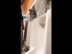 HOT MEN PISSING AT THE URINAL - video 5