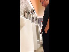 HOT MEN PISSING AT THE URINAL 4 - video 2