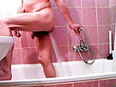 enema and shower