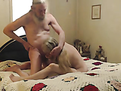 Old couple makes a wild sex tape