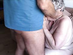 Fat granny likes sucking dicks