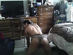 Straight Teen boys playing around