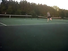 Huge Fart! and some tennis