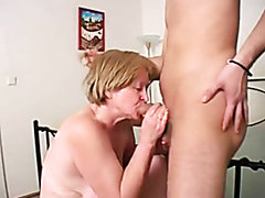Kinky mature slut gets rammed by a young well-hung stallion