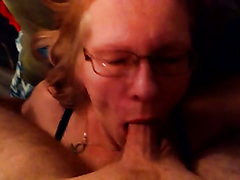 Horny granny gets her orgasmic pussy rammed really hard