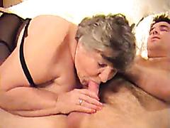 Kinky stallion enjoys banging a naughty old bitch really hard