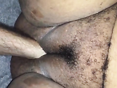 Fat amateur wife stuffed with a fist