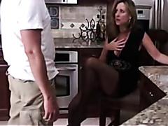 Stepson seduces Dads wife