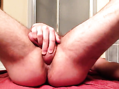 Fucking His Ass With His Own Dick