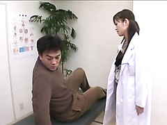 Patient gets a special exam