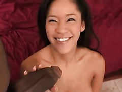 Nice big dick for an Asian slut