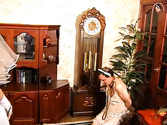 Man maid dominated by his mistress